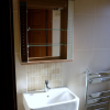 Ensuite Wall unit and wash hand basin