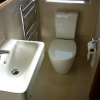 Ensuite Toilet & Wash hand Basin